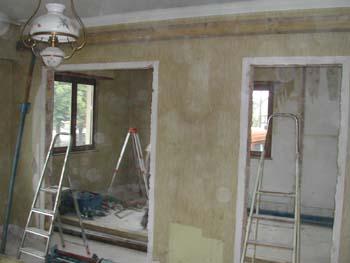 démolition du mur porteur - notre maison-chantier jour après jour - Enlever Un Mur Porteur