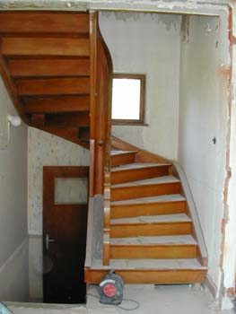 on ouvre la cage d escalier la vraie fin notre maison chantier jour apr 232 s jour