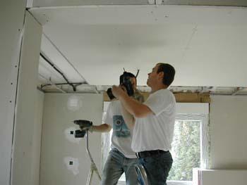 le faux plafond suite notre maison chantier jour apr s jour. Black Bedroom Furniture Sets. Home Design Ideas