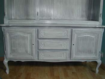 R novation d 39 une armoire notre maison chantier jour for Lasurer un meuble en bois