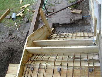 coffrage de l 39 escalier suite notre maison chantier. Black Bedroom Furniture Sets. Home Design Ideas
