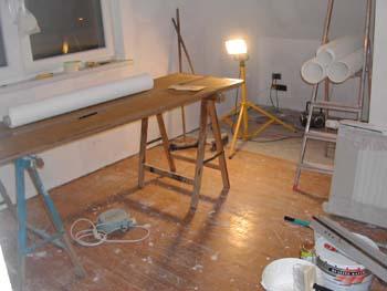 Pose du papier peindre notre maison chantier jour for Poser du papier a peindre